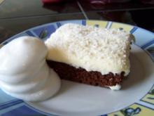 Vanillecremschokoschnitten - Rezept