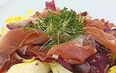 Chicoree-Schinken Salat - Rezept