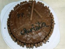 Mousse-au-chocolat-Torte - Rezept