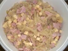 Zwiebel-Käse-Schinken-Salat - Rezept