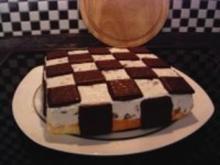 After Eight - Schachbrett - Torte - Rezept