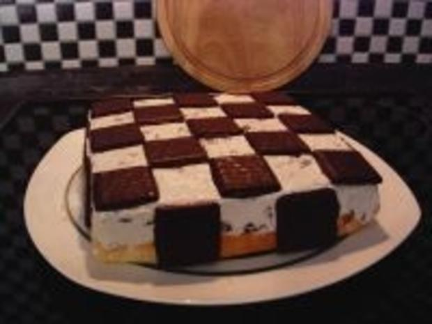 After Eight - Schachbrett - Torte - Rezept