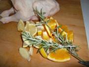 Orangen-Zitronen-Huhn - Rezept