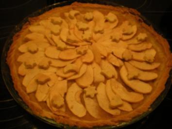 Apfel-Madeira-Tarte - Rezept