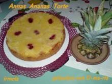 Annas  Ananas Torte - Rezept