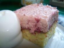 Erdbeer-Mascarpone Schnitten - Rezept