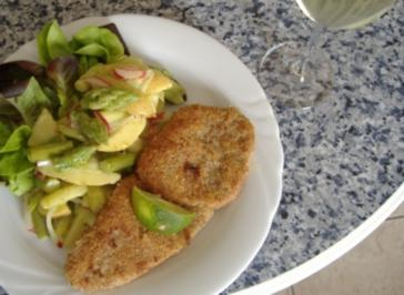 Rezept: Salat von Grünspargel mit franz.Kartöffelchen