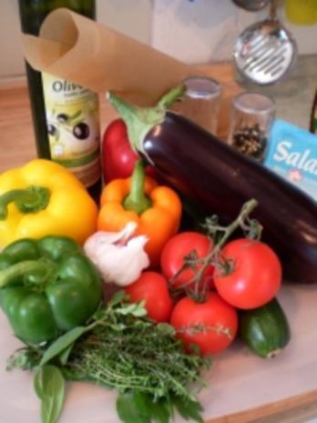 Bunte Gemüsepäckchen - Rezept - Bild Nr. 2