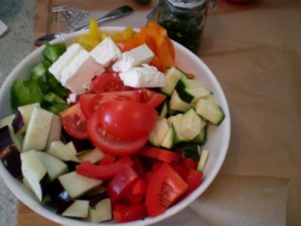 Bunte Gemüsepäckchen - Rezept - Bild Nr. 5