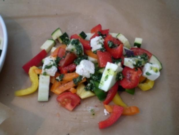 Bunte Gemüsepäckchen - Rezept - Bild Nr. 6