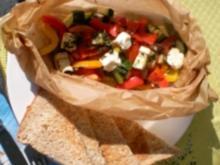 Bunte Gemüsepäckchen - Rezept