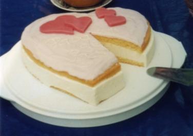 Rezept: Muttertags-Herztorte