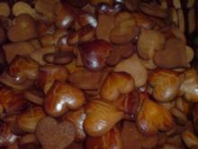 Kekse / Plätzchen - Lebkuchenherzen - Rezept