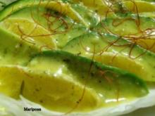 Avocado-Orangen-Salat - Rezept