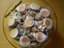Salate Oma's Kartoffelsalat wie Opa ihn mag - Rezept