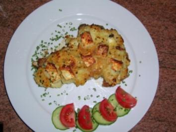 Kalbskoteletts mit gratinierter Kartoffel-Selleriekruste - Rezept