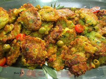 Rezept: Zucchinipuffer, griechische Art