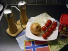 Gefuellte Grilltomaten - Rezept