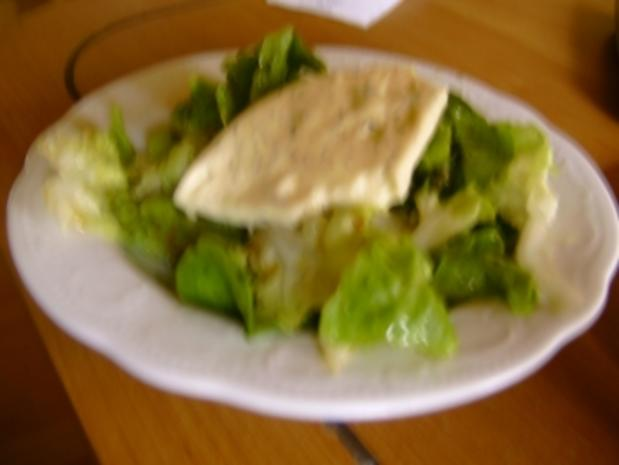 Blattsalat mit Schafskäse - Rezept - Bild Nr. 2