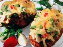 Kartoffeln mit Gemüsefüllung - Rezept