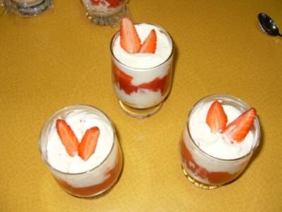Erdbeer-Marcarpone-Creme - Rezept