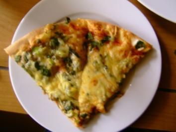 Rezept: Pizza /Blattspinat