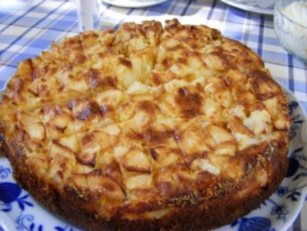 Berner Apfelkuchen - Rezept