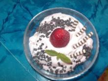 Erdbeer-Quark - Rezept