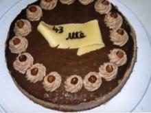 Nuss-Nougat-Torte - Rezept
