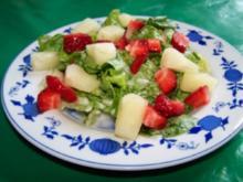 Fruchtiger Blattsalat - Rezept