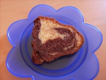 Marmorierter Schokoladenkuchen - Rezept