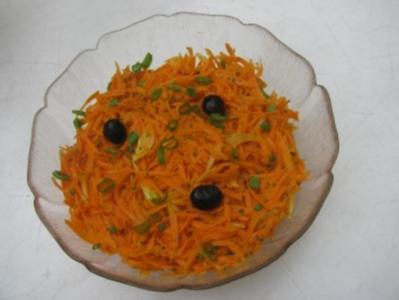 Mein Karottensalat - Rezept