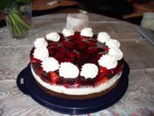 Torten: Bärbel's leichte Erdbeertorte - Rezept