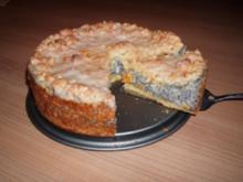 Mohn-Streusel-Kuchen - Rezept