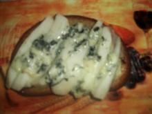 Birnen-Roquefort-Brote - Rezept