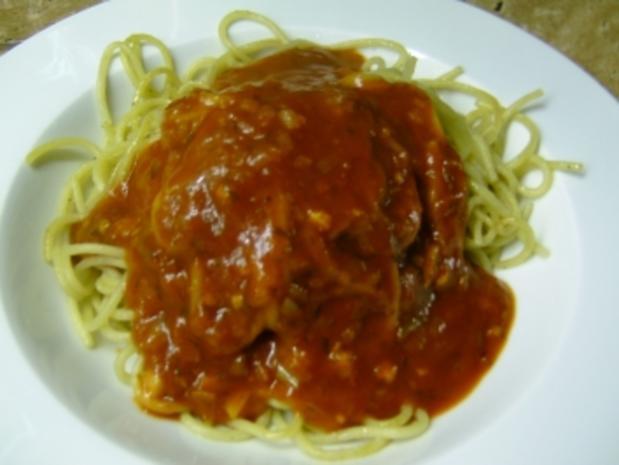 Spaghetti/ Tomatensoße - Rezept - Bild Nr. 2