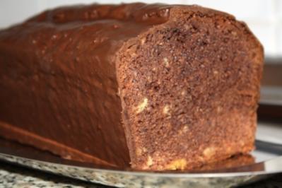 Schokoladen Marzipan Kuchen - Rezept - Bild Nr. 2
