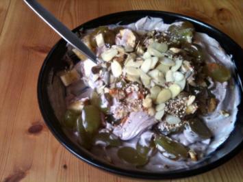 Frühstück - Hafer - Quark - Müsli - Rezept