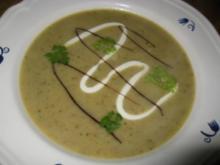 Grünkern - Zucchinisuppe - Rezept
