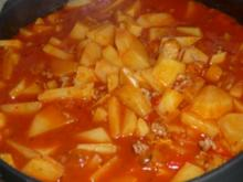 feurige Bauernpfanne - Rezept