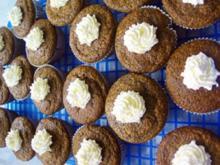 Kürbis Schoko Muffins - Rezept
