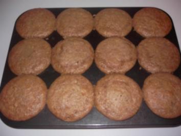 Rezept: Muffins mit Nuss-Nougat-Kern