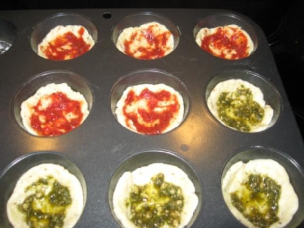 Pizza-Minis aus Blitzteig - Rezept - Bild Nr. 4
