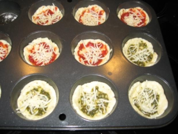 Pizza-Minis aus Blitzteig - Rezept - Bild Nr. 5