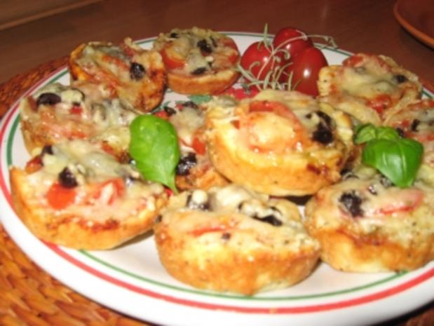 Pizza-Minis aus Blitzteig - Rezept - Bild Nr. 7