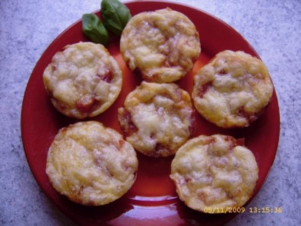 Pizza-Minis aus Blitzteig - Rezept - Bild Nr. 8