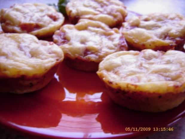 Pizza-Minis aus Blitzteig - Rezept - Bild Nr. 9