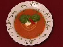 Der rote Drachen - Scharfe Tomatencremesuppe (Thomas und Helene Enns) - Rezept