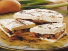 antipasti gefùllten camembert - Rezept