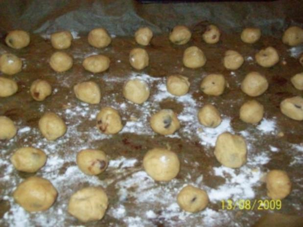 Schoko Mandel cookies - Rezept - Bild Nr. 2